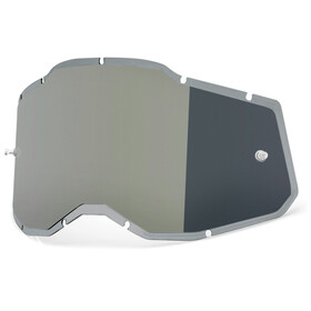 100% Injected Anti-Fog Replacement Lenses Gen2, silver/mirror